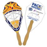 Hockey Mask Hand Fan Full Color (2 Sides)