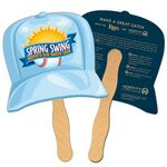 Baseball Cap Recycled Hand Fan