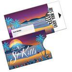Open Thumb Gift Card Holder Sleeve Full Color (3 3/4