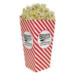 Custom Large Scoop Style w/ Straight Edge Popcorn Box