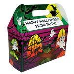 Custom Haunted House Treat Box