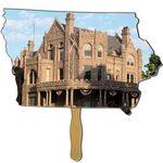 Custom Iowa State Hand Fan