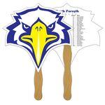 Custom Bird Fast Hand Fan (2 Sides) 1 Day