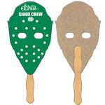 Hockey Mask Recycled Hand Fan