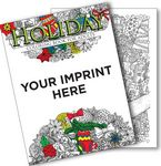 Custom Holiday Coloring Book for Adults