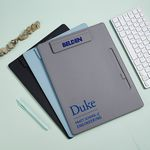 A4 File Magnetic Clip Hardboard Writing Pad with Pen Holder