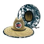 Lifeguard-Style Straw Hat