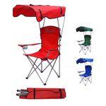 Custom Folding Beach Chair with Canopy Umbrella