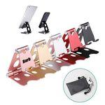 Custom Foldable Adjustable Desk Sturdy Aluminum Metal Phone Holder