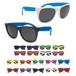 Two-tone Color Sunglasses