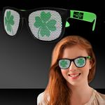 Shamrock Neon Green Billboard Sunglasses