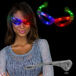 Light Up Multi-Color Flashing Glasses