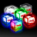 Custom Imprinted Liquid Activated Ice Cubes - Variety of Colors