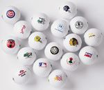 Custom Generic Blank White Golf Ball - One Dozen Bulk Balls