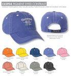 Custom Ahead Pigment Dyed Contrast Golf Cap - Blank