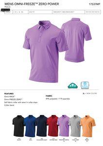9edc154c30f Columbia Men's Omni-Freeze Zero Power Polo Shirt - Blank - ACO-17S37 - IdeaStage  Promotional Products