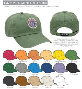 Ahead Unstructured Pigment Dyed Golf Cap - Blank - AA-C47PD6 - Swag Brokers c72e7cee77f
