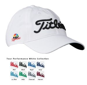 Titleist Tour Performance Cap (White Collection) - custom side logo -  AT-1783W - Swag Brokers a7e60aabfb1
