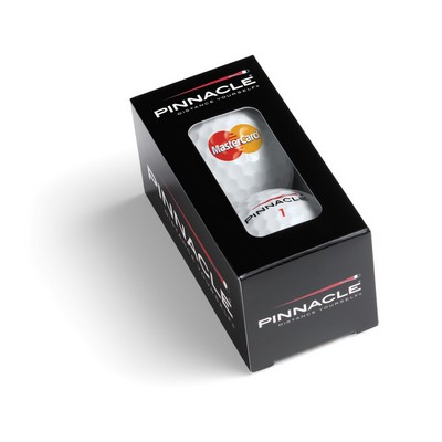 Pinnacle Soft (For Feel) White golf balls - 2-Ball Stock Sleeve