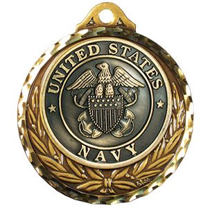 Custom Imprinted Navy Award Medals