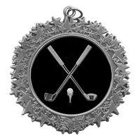 "Stock Star Border 2 3/4"" Medal- Golf General"