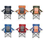 Custom Back Mesh Folding Chair