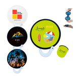 Full Color Nylon Foldable Fans with Pouch
