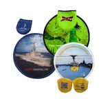 Foldable Full Color Fans with Pouch