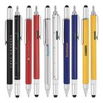 Custom Stylus-233L Ballpoint Pen, Ruler, Screwdriver & Level Tool