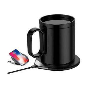 Custom Coffee Mug Warmer with Wireless Charger for Desk