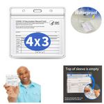 Vaccination Card Protector 4 X 3
