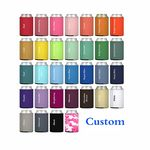 Beer Can Cooler Sleeves Collapsible Foam Soda Cover Coolies