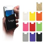 Custom Smart Silicone Cell Phone Wallet Pocket