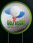 Golf Ball Sport Yard Signs