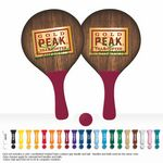 Custom Beach Pong Ball & Paddle