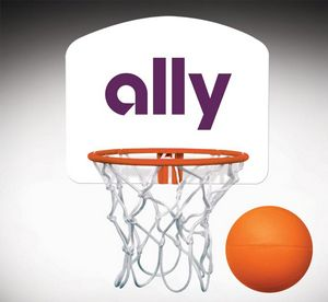 52e6c6b073b Custom Mini Basketball Set | GallantGifts.com