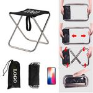 Custom Outdoor Mini Portable Folding Stool Camping Chair