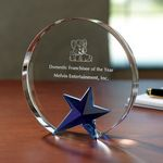 Custom Circle Star Award