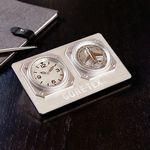 Custom Auto-Adjusting Aviator Clock