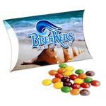 Custom Full Color Paper Pillow Pack w/Mini Bag Skittles