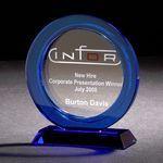 Custom Enduring Cobalt Optically Perfect Award