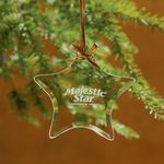Custom Star Jade Glass Ornament