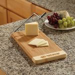 Custom Two Tone Bamboo Cheese Cutter
