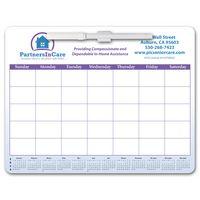 Memo Board Calendar w/ Rem Adh