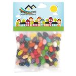 Custom Jelly Belly Candy in Lg Header Pack