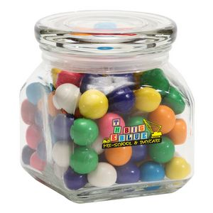 Gumballs in Sm Glass Jar