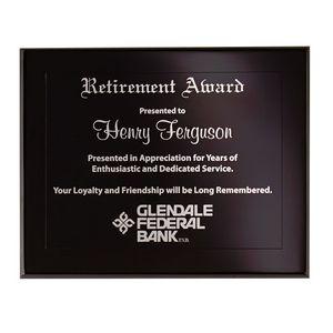 Onyx Large Plaque Award