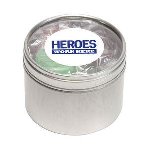 Life Savers in Small Round Window Tin