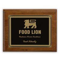 Ashford Medium Plaque Award