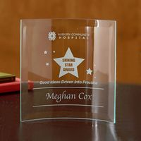 Jade Square Crescent - Large Award